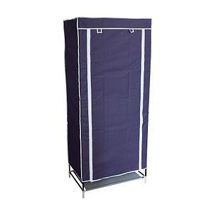 Шкаф тканевый для одежды, цвет синий, фото 2