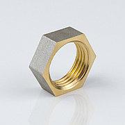 """Контргайка латунь никель Ду 25 (1"""") VTr.655"""