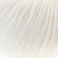Пряжа 'Кроха' 20 шерсть, 80 акрил 135м/50гр (0235, супер белый) (комплект из 10 шт.)