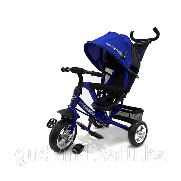 Велосипед 3-х колесный Lexus Trike, колеса пластик, синий 01-12585