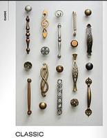 Классические мебельные ручки для кухни