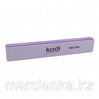 Баф для ногтей прямоугольный Kodi 180/180 фиолетовый