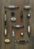 Мебельные ручки с керамикой
