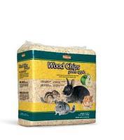Наполнитель Padovan Wood Chips Green Apple, древесные стружки с запахом яблока для грызунов, 1 кг. /