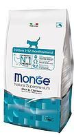 Корм Monge Kitten для котят и беременных кошек (Курица) - 1.5 кг