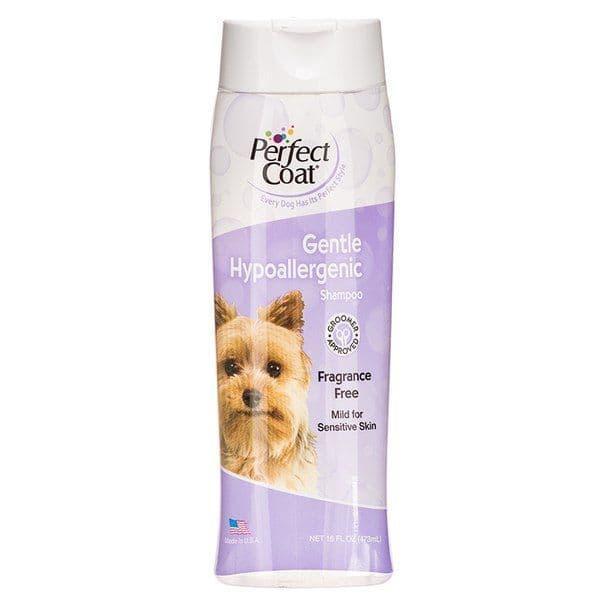 Шампунь для собак с чувствительной кожей, 8in1 Perfect Coat - 473мл