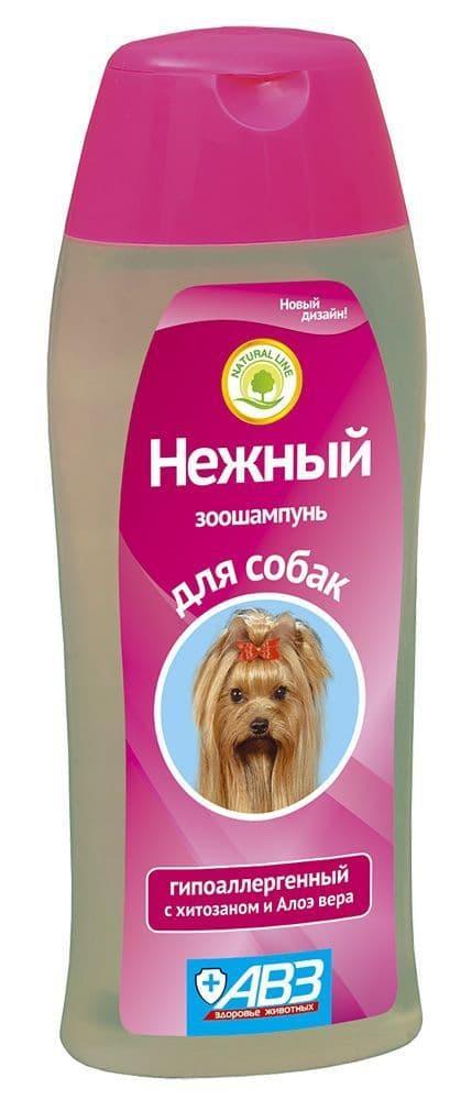"""Гипоаллергенный шампунь для собак, """"Нежный"""" - 270 мл"""