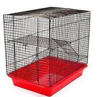 Клетка ECO Хома №2 для грызунов, 2 этажа, 33*24*28 см