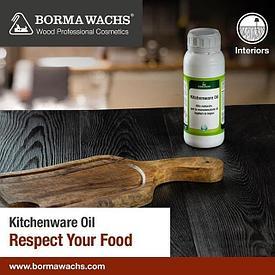 Масло для кухонных принадлежностей 1 л Borma Wachs