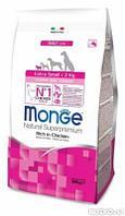 Корм Monge Extra Small для щенков миниатюрных пород (Курица) - 800 г