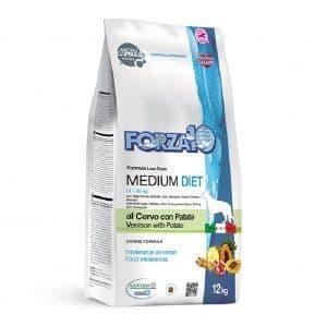 Гипоаллергенный корм Forza10 Medium Diet для взрослых собак (Оленина с Картофелем) - 1.5 кг