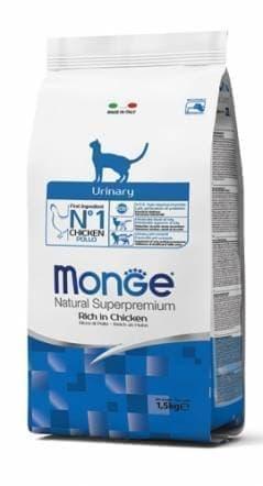 Корм Monge VetSolution Urinary для кошек с мочекаменной болезнью - 1.5 кг