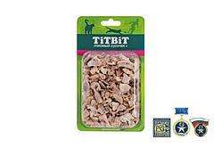 Высушенные кусочки говяжьего легкого для кошек, TitBit - 12 г