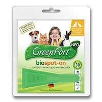 Green Fort  Neo БиоКапли от блох для кошек и собак до 10 кг