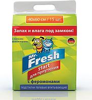 Пеленки Mr.Fresh Expert Start 40*60 см- 15 шт.