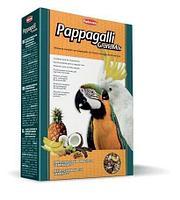 Комплексный корм Padovan Grandmix Pappagalli для крупных попугаев (амазон, жако, какаду, ара), 600 г