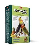 Комплексный корм Padovan Grandmix Parrocchetti для средних попугаев (неразлучники, кареллы), 400 гр.