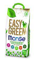 Комкующийся наполнитель Monge Easy Green для туалета кошек, рептилий, грызунов - 10 л