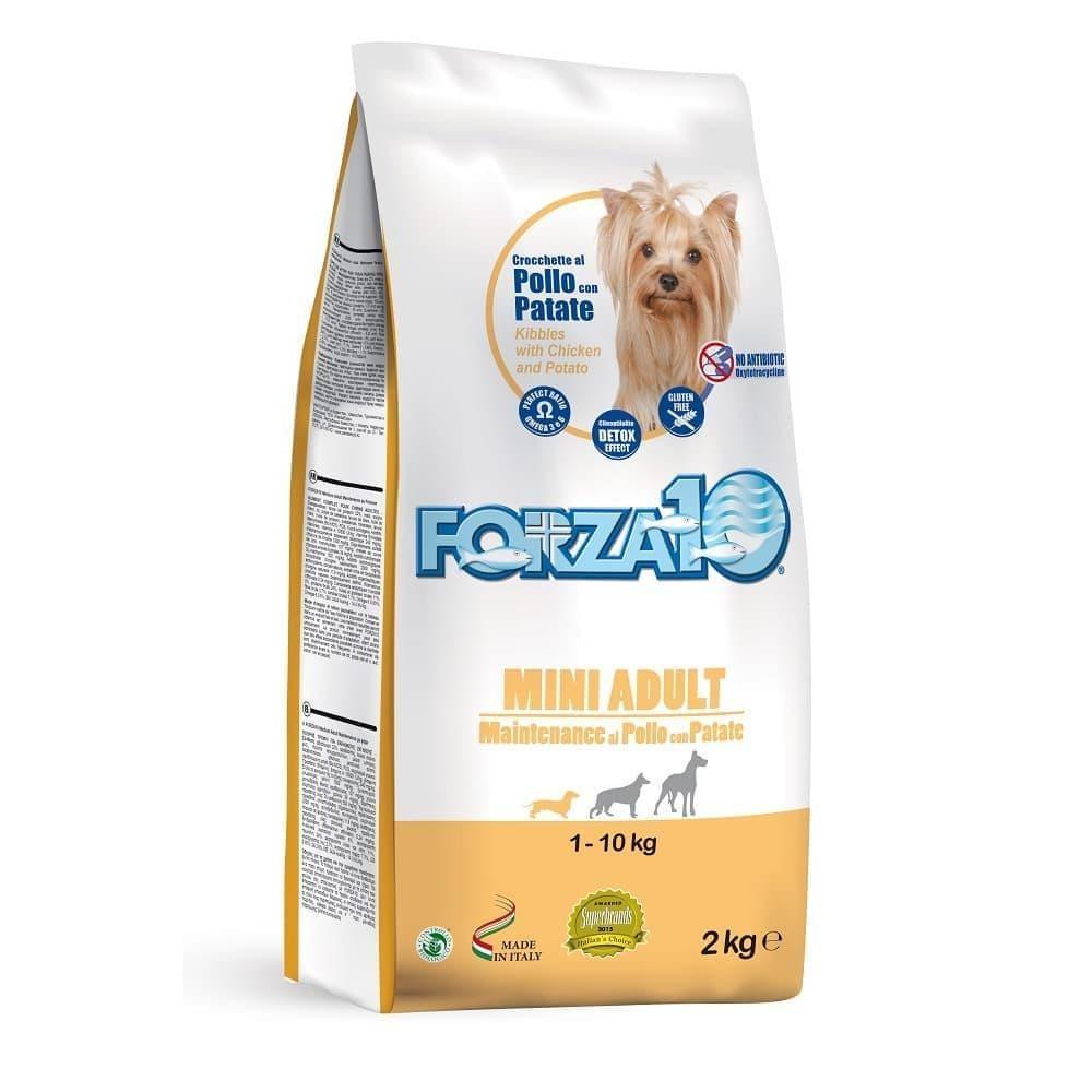 Корм Forza10 Mini Adult Maintenance для взрослых собак, мелких пород (Курица и Картофель) - 2 кг