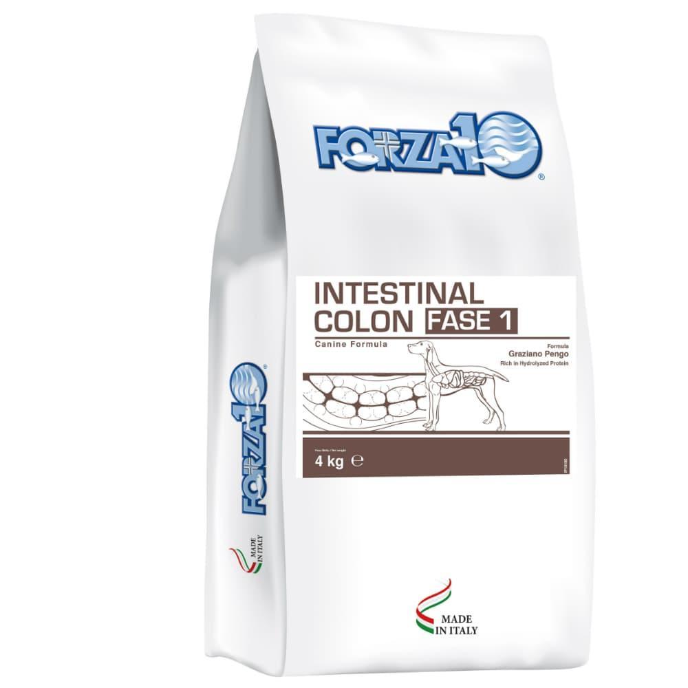 Корм Forza10 Intestinal Colon для собак, при хронических колитах и проблемах ЖКТ (Рыба) - 4 кг