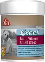 Мультивитамины Excel Multi Vitamin Small для собак мелких пород, 8in1 - 70 табл.