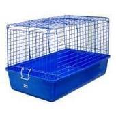 Клетка для кроликов и морских свинок, складная №1 -  50х35х30,5