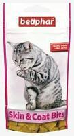 Подушечки Skin&Coat для улучшения шерсти и кожи у кошек, Beaphar - 35 г