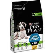 Корм Pro Plan для щенков крупных пород с атлетическим телосложением (Курица и рис) - 3 кг