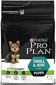 Корм Purina ProPlan Puppy Small для щенков мелких пород (Курица с рисом) - 7 кг