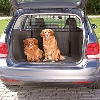 Металлическая регулируемая автомобильная решетка Trixie для багажника - 125-140 см - 63-135 см