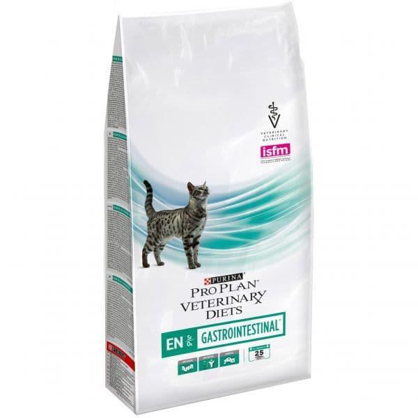 Корм Pro Plan VetDiets EN для кошек с расстройством пищеварения - 1.5 кг