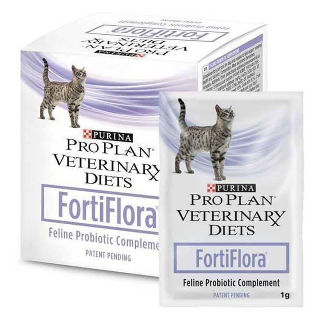 Пробиотическая добавка Pro Plan VetDiets FortiFlora для поддержания баланса микрофлоры кошек - 1 шт