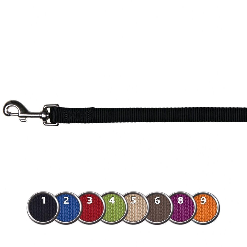 Поводок Trixie Premium для собак, 1.2м/10мм, бордо