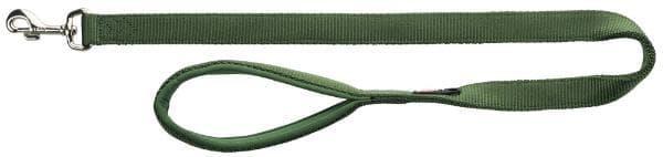 Поводок Trixie Premium для собак, 1.20м/15мм, лес