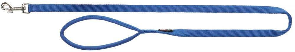 Premium поводок для собак, M-L: 1.00 m/20 mm, небесно-голубой