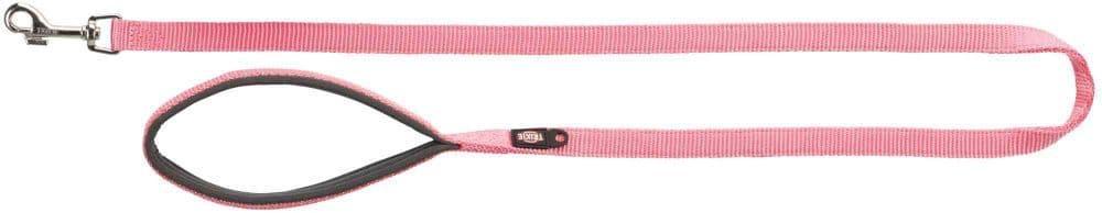 Premium поводок для собак, M-L: 1.00 m/20 mm, фламинго