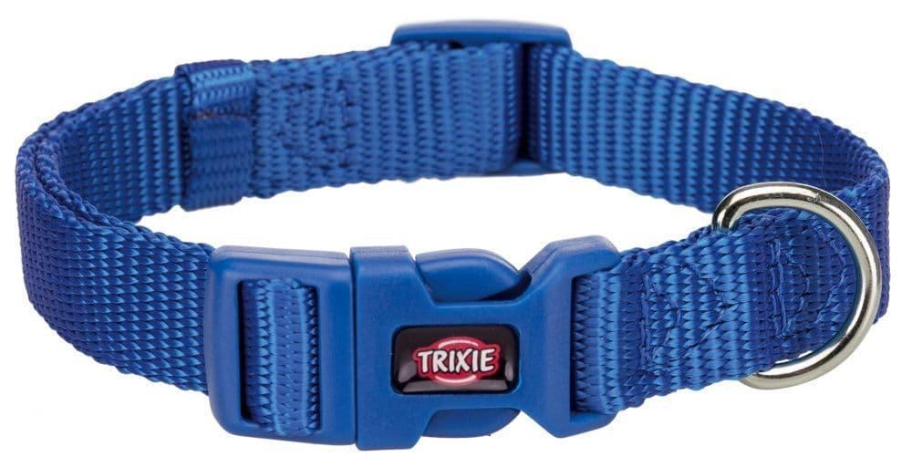 """Ошейник для собак """"Premium"""" 22–35 см 10 мм/ Цвет: синий"""