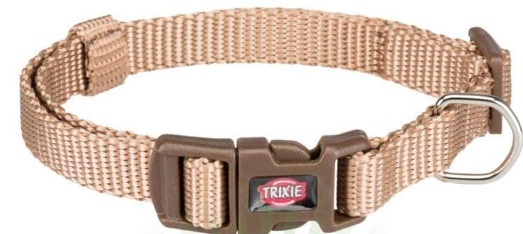 Ошейник Trixie Premium для собак, XS–S: 22–35см/10мм, карамель