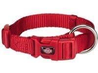 Ошейник Trixie Premium для собак,  S–M: 30-45см/15мм, красный