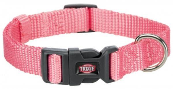 Ошейник Trixie Premium для собак, S-M: 30-45см/15мм, фламинго