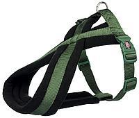 "Шлейка для собак ""Premium"".   Р-Р 26-38 cm/10 mm. Цвет: лес"