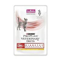 Корм Pro Plan Veterinary Diets DM для кошек, с диабетом (Курица) - 85 г