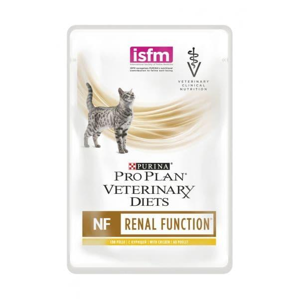 Корм Pro Plan VetDiets NF для кошек с патологией почек (Курица) - 85 г