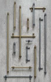 Ручки рейлинги для шкафа