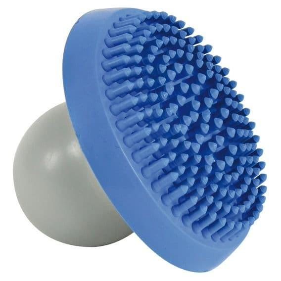 Щетка с возможностью заполнения шампуня для мытья и массажа собак