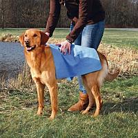 Голубое супервпитывающее полотенце для животных - 66 × 43 см