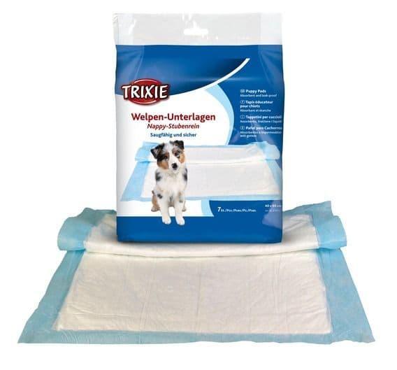 Пеленки для собак из натуральной целлюлозы Trixie - 40х60 см - 7 пеленок