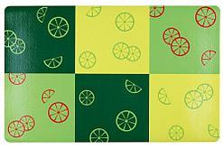Пластиковый коврик под миски, Fresh Fruits - 44 х 28 см