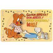 Пластиковый коврик на нескользящем дне для собак - 44х28 см
