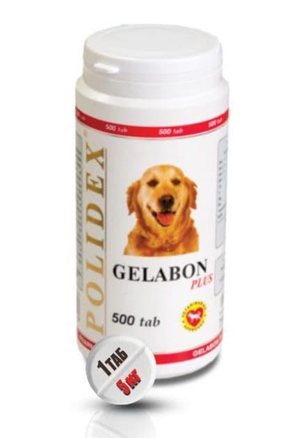 Gelabon plus, профилактика и лечение опорно-двигательного аппарата, Polidex - 500 табл.
